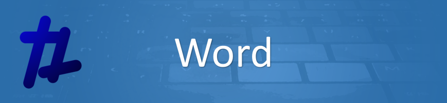 Word Banner