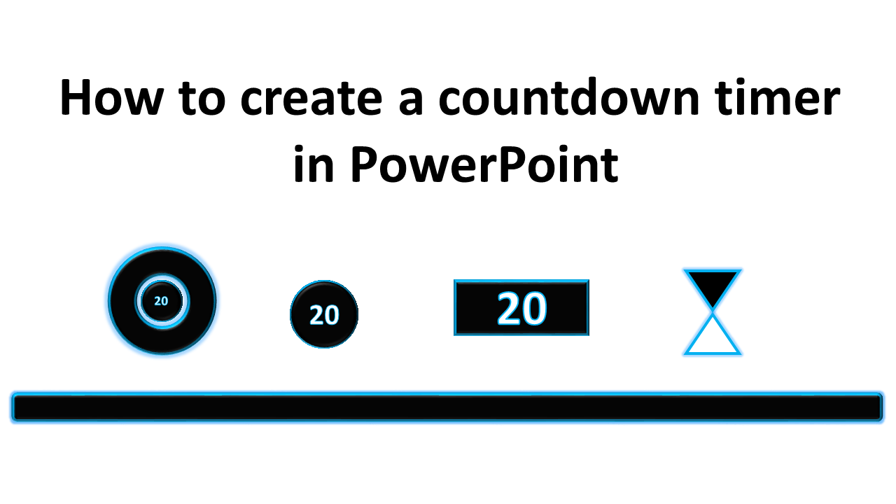 how to create a countdown timer in powerpoint – tekhnologic, Modern powerpoint