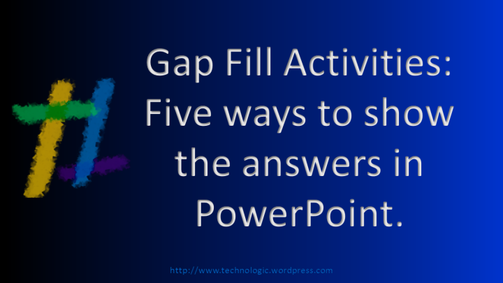 Gap Fill Activities - Featured Image