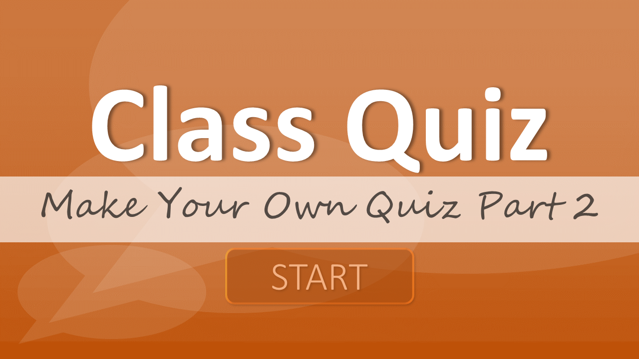 make your own quiz part 2: adding a score board – tekhnologic, Presentation templates