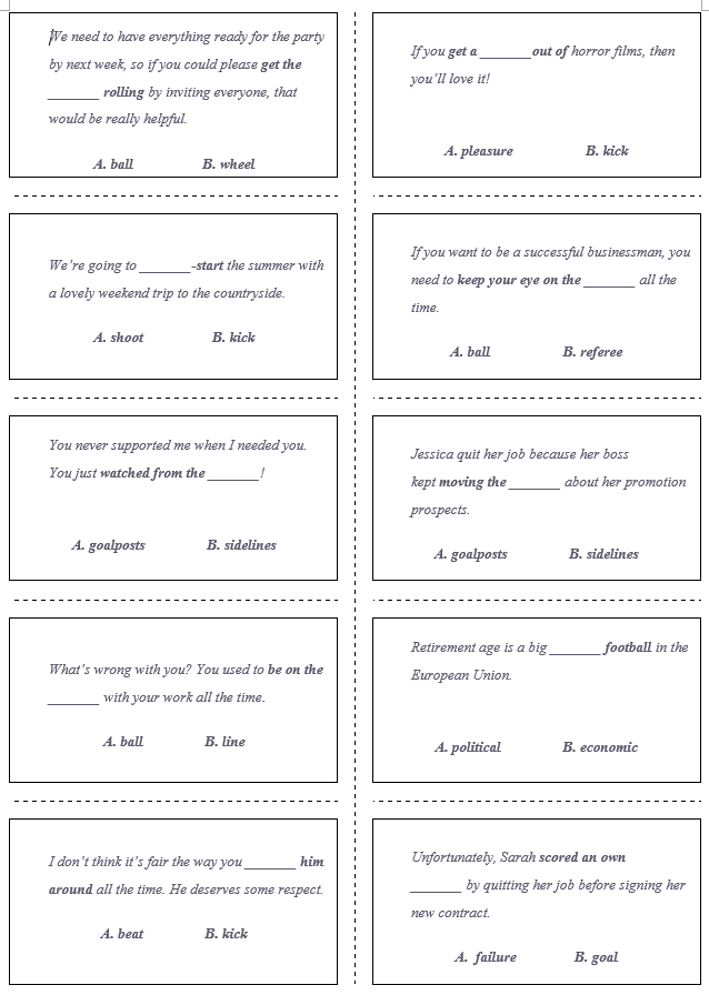 Example Card Set