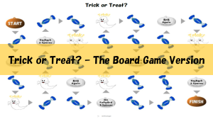 Trick or Treat Board Game - Featured Image