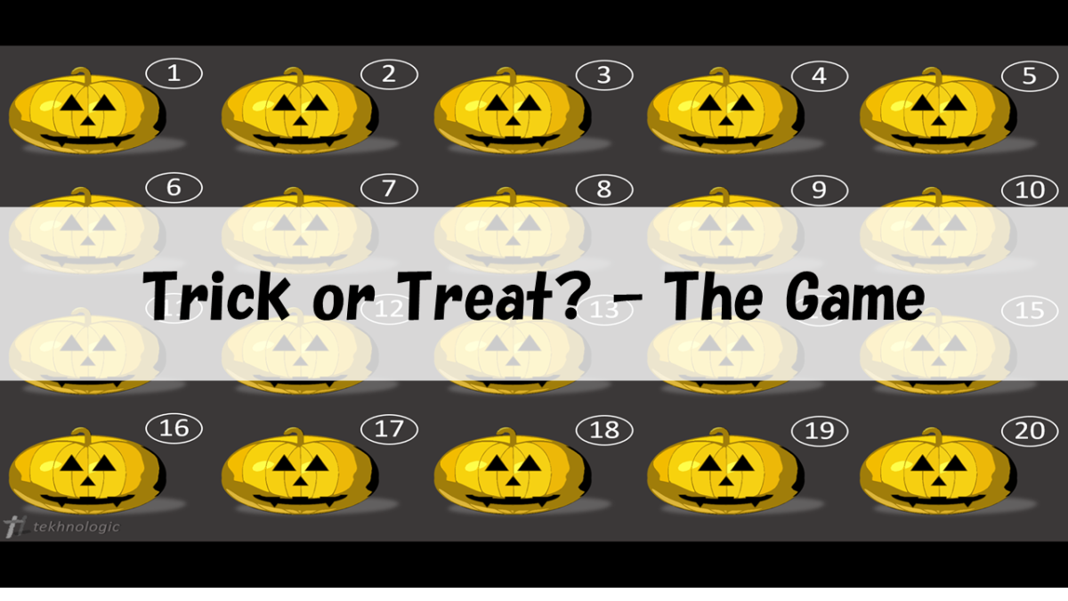 Trick or Treat? - The Game