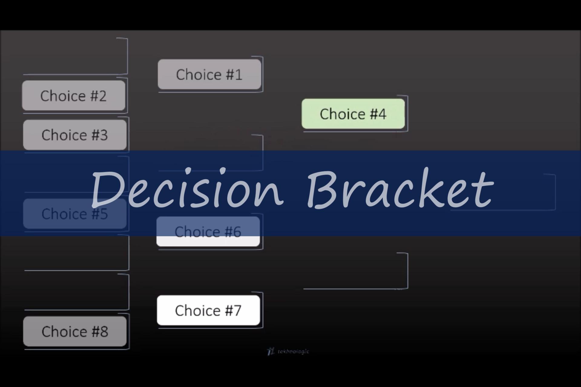 Decision Bracket - Featured Image