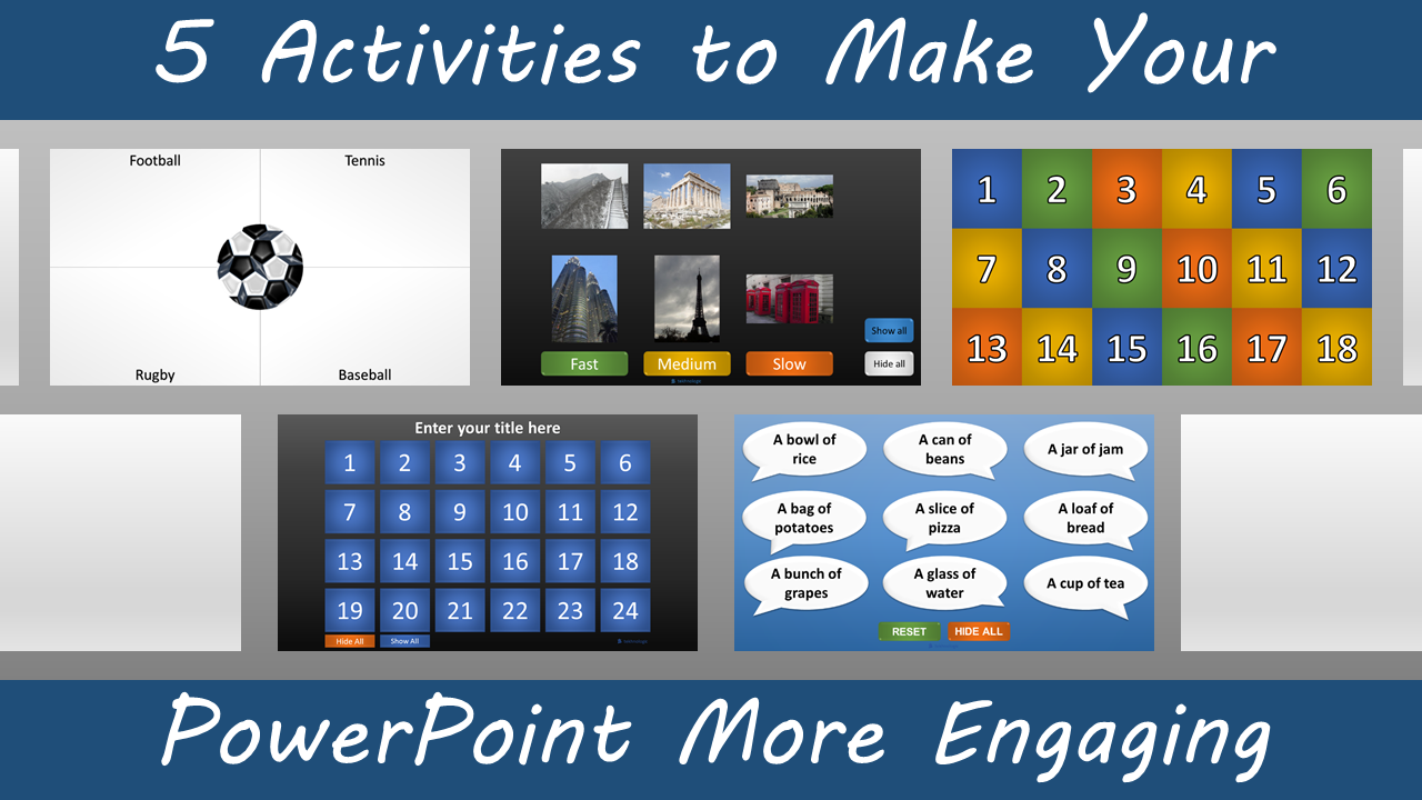 5 activities to make your powerpoint more engaging – tekhnologic, Powerpoint templates