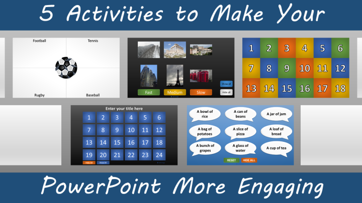 5 Activities to Make Your PowerPoint More Engaging - Featured Image
