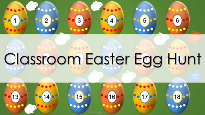 Classroom Easter Egg Hunt - Featured Image
