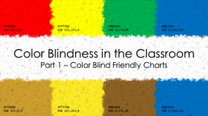 Color blindness in the Classroom Part 1 - Featured Image