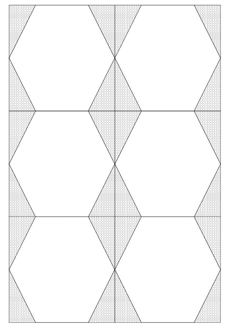 graphic about Printable Hexagon Grid called Hex Grids Pupils bringing their guidelines with each other tekhnologic