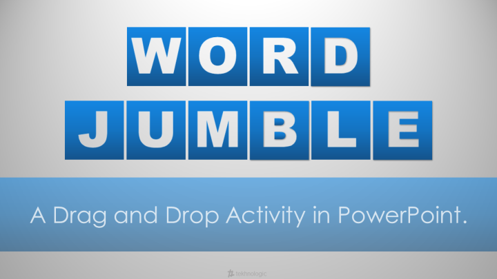 Word Jumble Part 2 - Featured Image