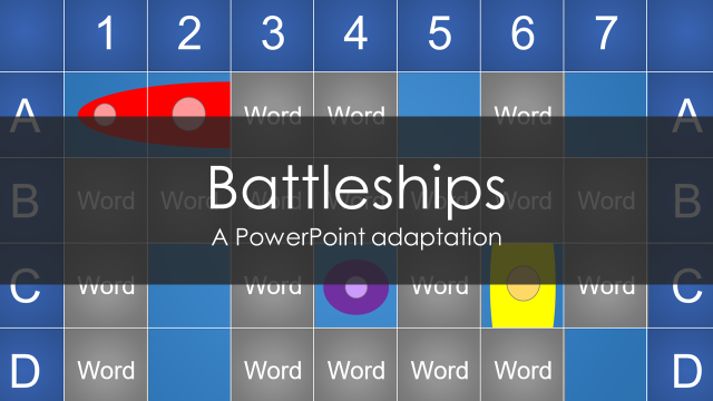 Battleships A Powerpoint Adaptation Tekhnologic