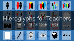 Hieroglyphs for Teachers Part 2 - Featured Image