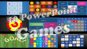 10 PowerPoint Games NEW - Featured Image
