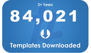 100 - Templates Downloaded
