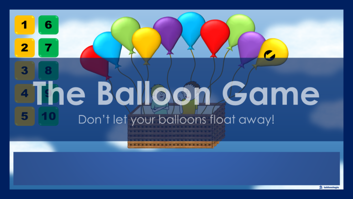 The Balloon Game - Featured Image