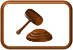 Gavel Button