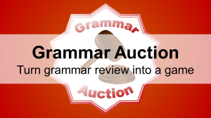 Grammar Auction - Featured Image