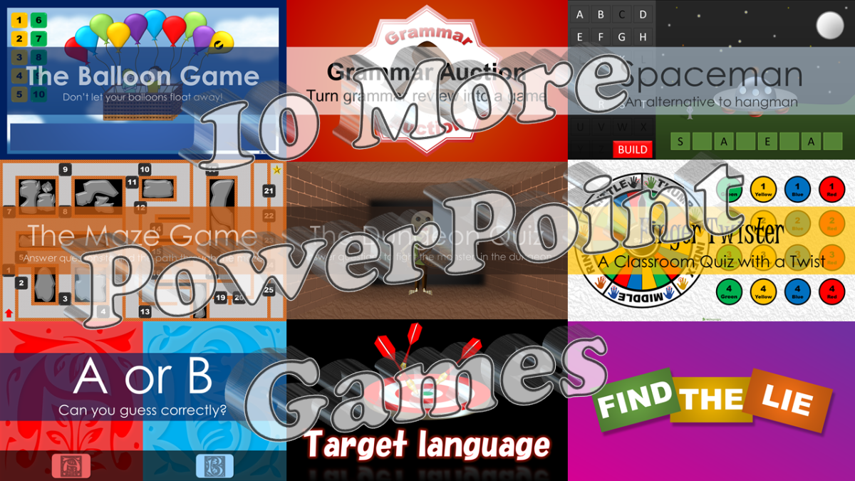 10 More PowerPoint Games