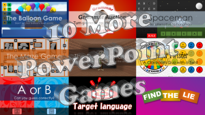 10 More PowerPoint Games - Featured Image