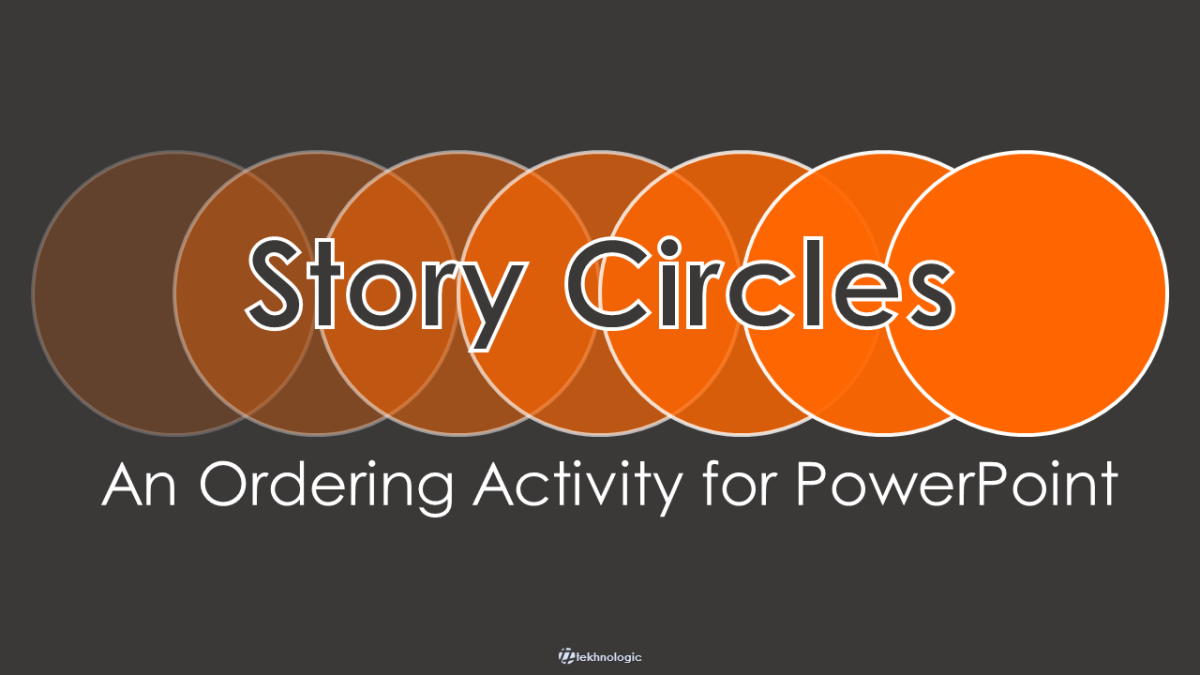 Story Circles: An Ordering Activity for PowerPoint.
