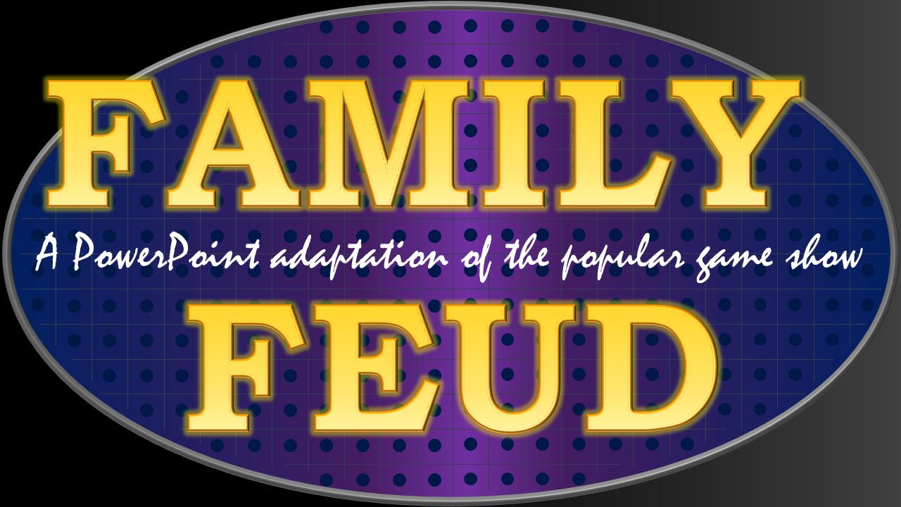 Family Feud – tekhnologic Regarding Family Feud Powerpoint Template Free Download