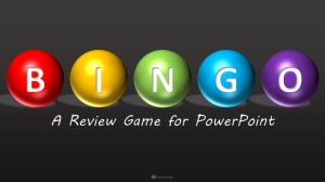 Bingo - Title Slide