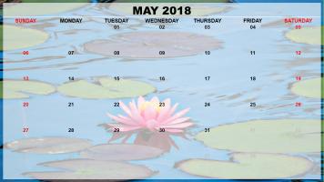 May 2018 Example