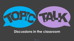 Topic Talk - Featured Image