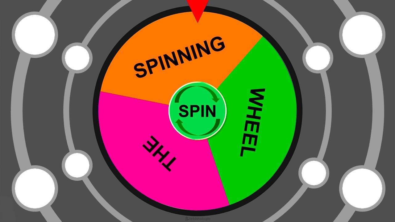 The Spinning Wheel 2018 Tekhnologic